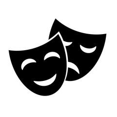 Mask vector icon.