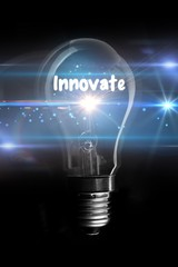 Composite image of innovate