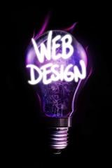 Composite image of web design