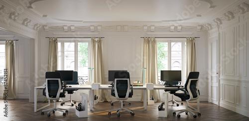 Modernes büro design  Modernes Büro in Altbauwohnung - modern office in old apartment ...