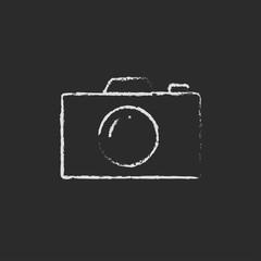 Camera drawn in