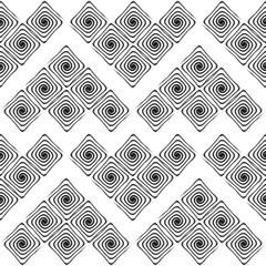 Design seamless monochrome labyrinth pattern