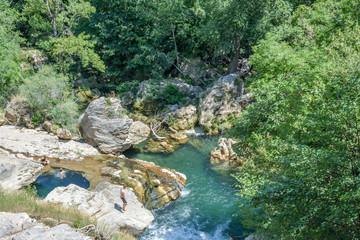 rivière grand site du Cirque de Navacelles