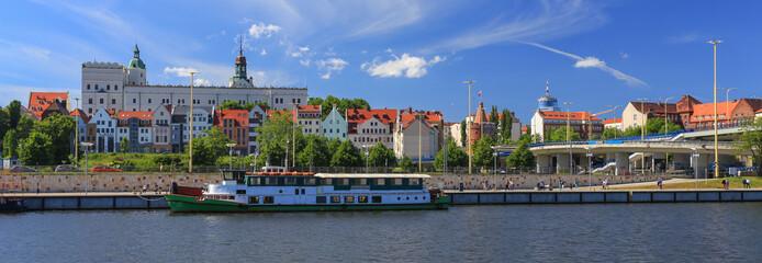 Szczecin - panorama miasta