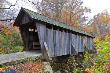 Pisgah Covered Bridge in Randolph County North Carolina