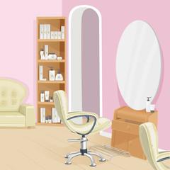 Beauty salon interior