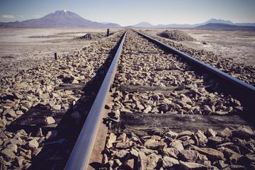 Cemitério de Trens - Bolívia