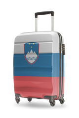 Suitcase with national flag on it - Slovenia