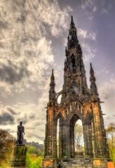 The Monument to Sir Walter Scott in Edinburgh