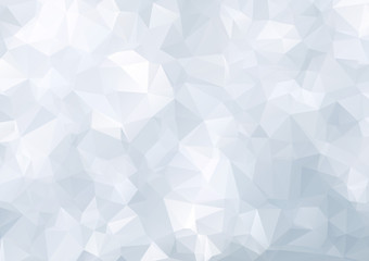 Abstract triangle blue texture