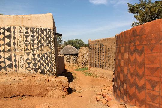 Gourounsi Dorf in Burkina Faso