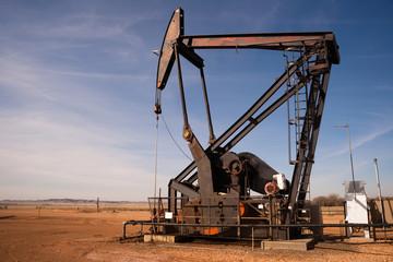 North Dakota Oil Pump Jack Fracking Crude Extraction Machine