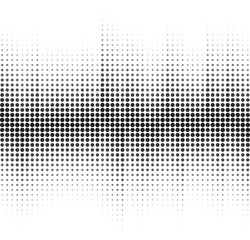 An abstract black and white halftone background