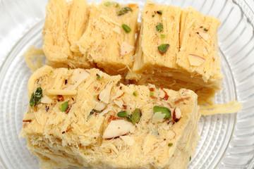 Sohan Papdi - an indian sweet