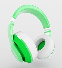 Cuffie auricolari musica verdi