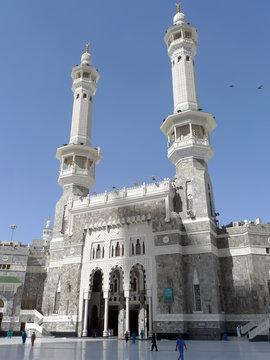 Masjid Al Haram Exterior in Mecca Saudi Arabia