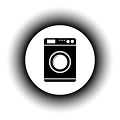Washing machine button.