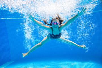 girl in pool