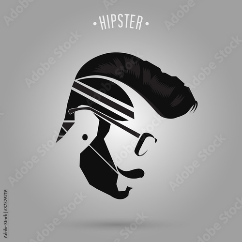Hipster Hair Style Stock Image And Royalty Free Vector Files On