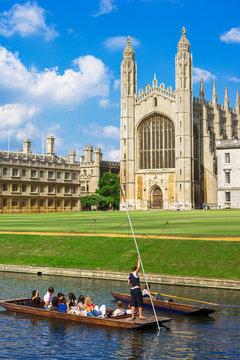 Kings College in Cambridge University, England