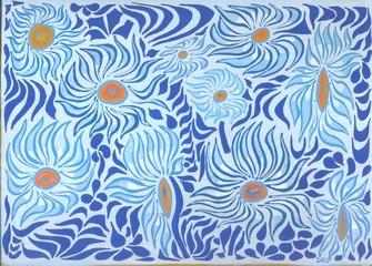 Cerca immagini fiori stilizzati for Fiori stilizzati colorati