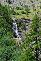 Cascata del torrente di Saint-Marcel - Valle d'Aosta