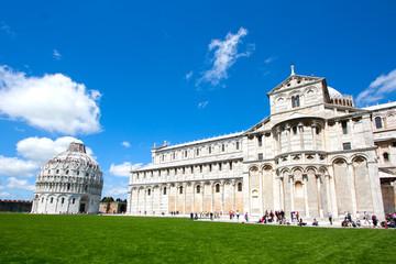 Fototapete - Pise - Duomo et Baptistère