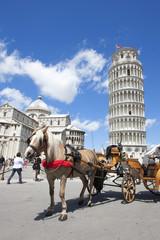 Wall Mural - Italie / La tour penchée de Pise - The Leaning Tower of Pisa