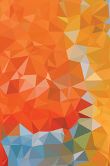 background with triangles and squares