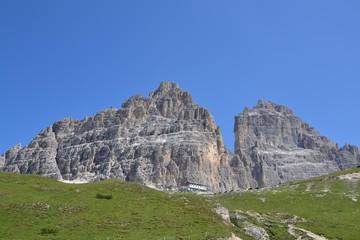 Rifugio Auronzo e Tre Cime di Lavaredo (Rif.Auronzo, Drei Zinnen)