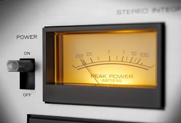 vintage stero amplifier