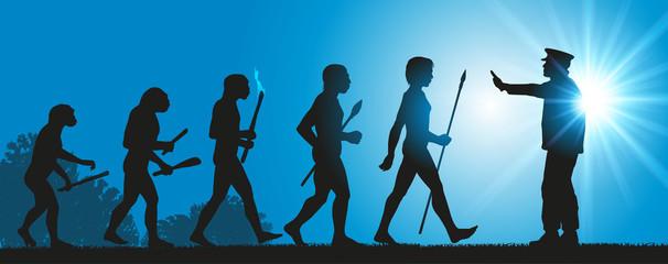 Hommes Evolution Halte