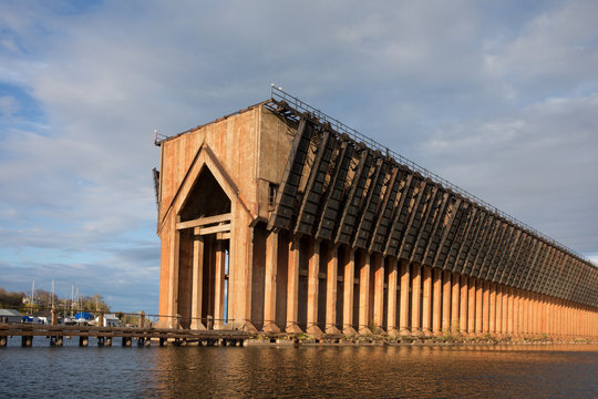Abandoned Ore Dock on Lake Superior - Marquette Michigan