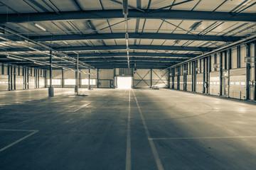 Leere Industrie Halle