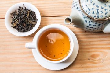 Tea cup and tea pot 2