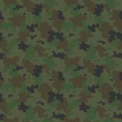 Set of Camouflage seamless pattern.