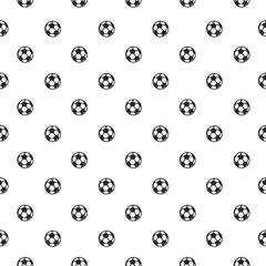seamless pattern with soccer