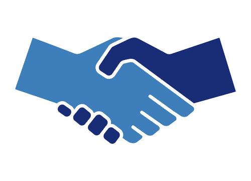 Handshake Icon. Vector illustration.