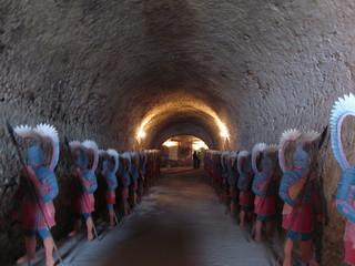 Подземный ход в Дубенском замке (Украина)