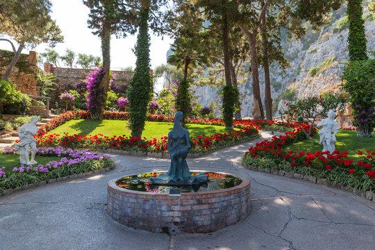 Gardens of Augustus on Capri Island