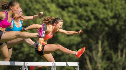Hürdenläufer, Leichtathletik