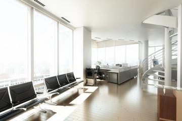 Büroraum-Konzept