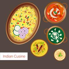 Indian Cuisine Vector