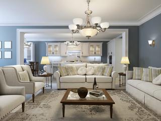 Mediterranean living room trend