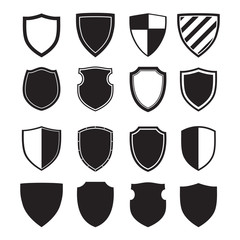 Shield silhouettes