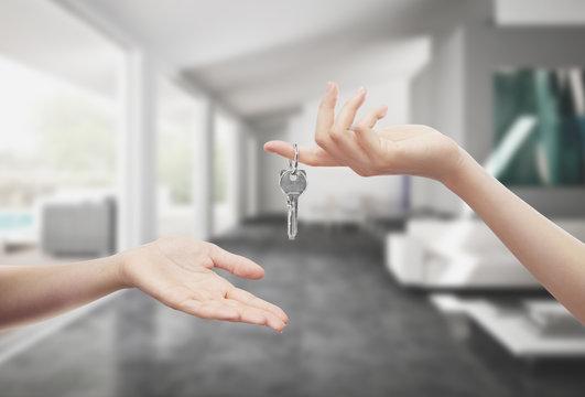Consegna chiavi casa in mano interno