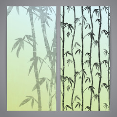 Flayers with bamboo stems