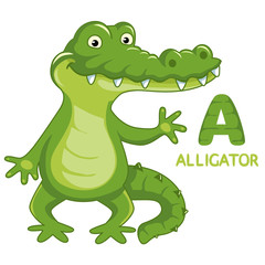 Letter I, animal ABC