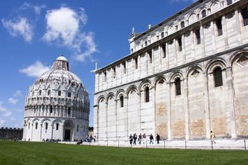 Fototapete - Italie / Pise - Duomo et Baptistère