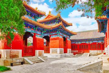 Papiers peints Pékin Temple of Confucius at Beijing is the second largest Confucian T